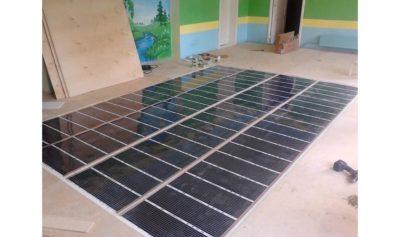 Как сделать стяжку под электрический теплый пол?