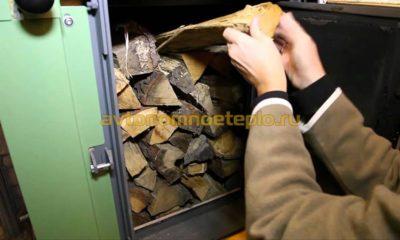 Как правильно закладывать дрова в печь?