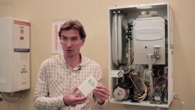 Как запустить газовый котел Navien?