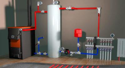Как правильно сделать Однотрубную систему отопления?